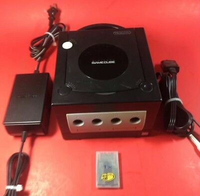 Nintendo Gamecube Black Console Only! No Reserve!