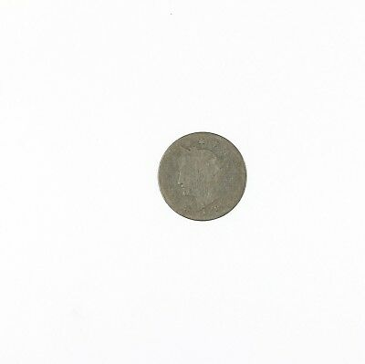 """Raw 1885 Liberty Head """" V """" Nickel Circulated Key Date US Minted Coin"""