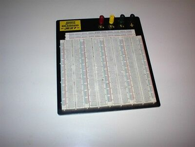 Jameco Electronics Model Je27 Breadboard Proto Board
