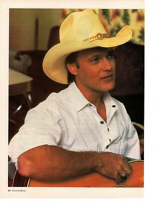 Ricky Van Shelton 5 Page 1990 Magazine Article Clipping 6 Pictures Country Music