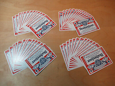 Budweiser Genuine Playing Cards from The United States Playing Card Company