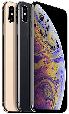 Apple iPhone XS MAX 64GB 256GB 512GB - SPACE GRAU SILBER GOLD - NEU OVP