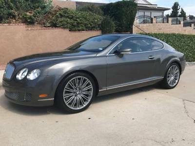 2008 Bentley Continental GT GT Speed