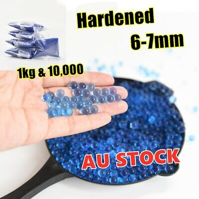 Blaster Gun 1KG 10000 pc Hardened Bullet Water Gel Balls Bear 6-7mm Ammo Toy AU