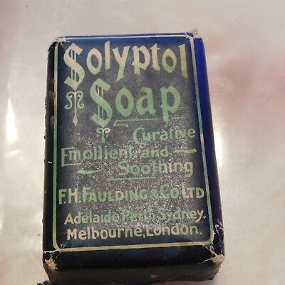 Vintage Solyptol Medicated Soap