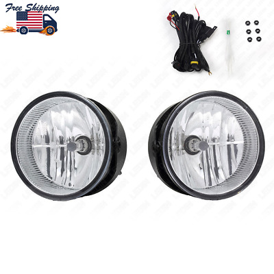 2007-2014 Ford Expedition 08-11 Ranger Driving Bumper Fog Lights w// Switch+Bulbs