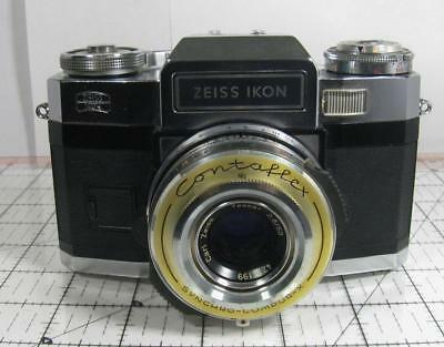 Zeiss Ikon Contaflex Super BC with Carl Zeiss Tessar 50mm f/2.8 Lens