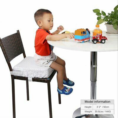 Zicac High Chair Portable Baby Cushion Dining Chair Booster Seat Pad with Cover