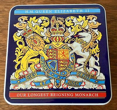 Queen Elizabeth Biscuit Tin Royal Collection Trust Our Longest Reigning Monarch