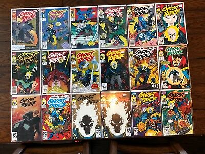 Near Complete Comic Run GHOST RIDER COMICS Collection #1-95 (1990 2nd Series)
