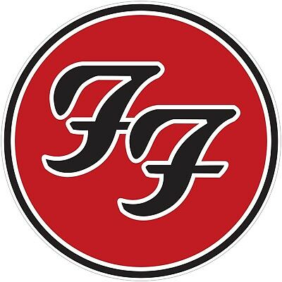 Foo Fighters Color Vinyl Decal Sticker - You Choose Size