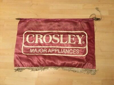 Crosley Major Appliances Vintage Advertising Banner Old Store Display Sign