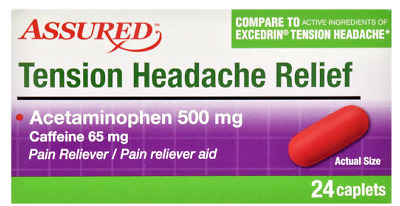 EXCEDRIN PAIN RELIEVER, Tension/PM Headache/Extra Strength/Migraine