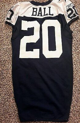2011 Alan Ball Game Used Dallas Cowboys Throwback Jersey! Steiner LOA! 5a04c397d