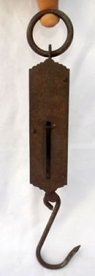 1900s Original Antique Hand Crafted Iron Brass Pocket Balance Scale Germany