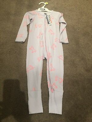 BONDS  ZIP Zippy WONDERSUIT Unicorn BNWT SZ 2