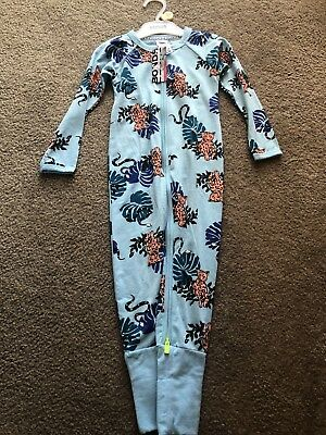 BONDS  ZIP Zippy WONDERSUIT Amur Leopard Blue Corvette Tiger BNWT SZ 2