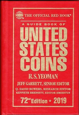 2019  Official  RED BOOK  Guide to US Coins  HARDCOVER   New  MINT