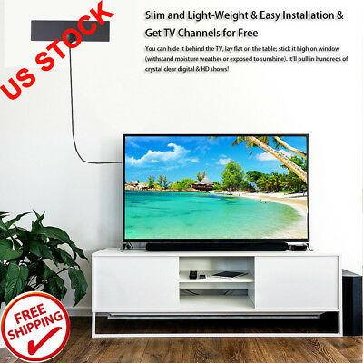 TV Antenna Detachable Indoor HD Digital TV Amplifier Signal Booster HDTV Aerial