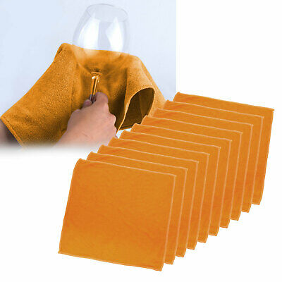 10 X Microfibre drying towel car drying and buffing cloth 40x40cm