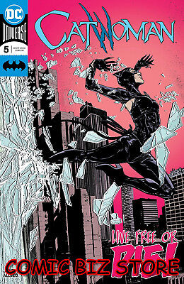Catwoman #5 (2018) 1St Printing Main Cover Dc Universe Bagged & Boarded