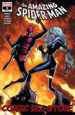 Amazing Spider-Man #9 (2018) 1St Print Ramos Main Cover Bagged & Boarded Marvel
