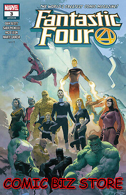 Fantastic Four #3 (2018) 1St Printing Ribic Main Cover Cover Marvel Comics