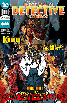 Detective Comics #992 (2018) 1St Printing Main Cvr Dc Universe Bagged & Boarded