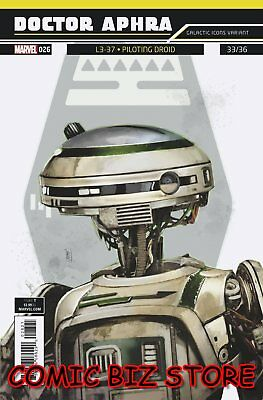 Star Wars Doctor Aphra #26 (2018) Reis Galactic Icon Variant Cover ($4.99)