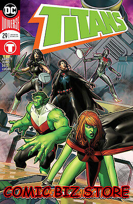 Titans #29 (2018) 1St Printing Main Cover Bagged & Boarded Dc Comics Universe
