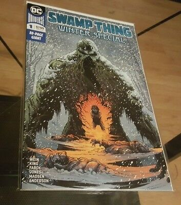 Swamp Things Winter Special #1 80 Page Giant NM Tom King