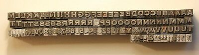 12pt Spartan Plate (Copperplate) typeface letterpress movable metal type