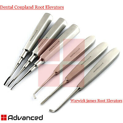 Dental  Warwick James Surgical Coupland Implant Tooth Extraction Root Extractor