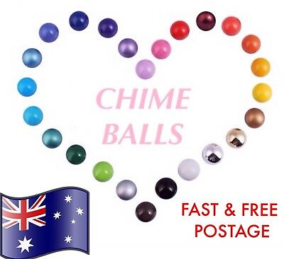 CHIME BALLS for Mexican Bola Harmony Angel Caller Pregnancy Locket Necklaces AU