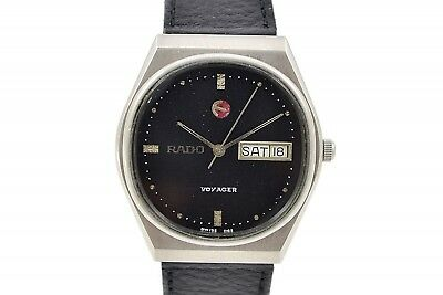 Vintage Rado Voyager Stainless Steel Automatic Midsize Watch 260