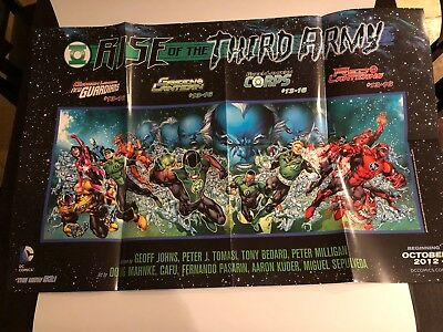 Green Lantern, Rise of the Third Army Poster - DC