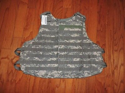 """New Old Stock Nos Military Molle Tactical Combat Vest Mens Large 41-45"""" Chest"""