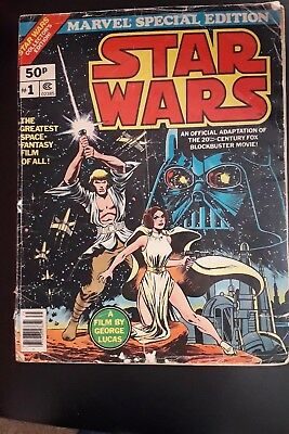 Marvel Comic - Star Wars (1977) Fn+ (Marvel Special Edition) #1