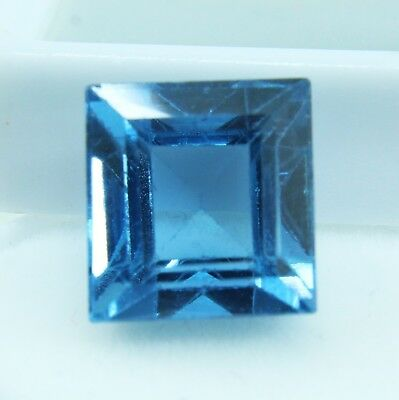 10.35 Ct Natural Emerald Cut Transparent Ocean Blue Aquamarine Gem GGL certified