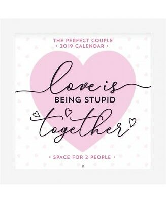 Calendario Legami.Legami Calendario Da Parete 18x18 Special Edition The Perfect Couple