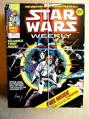 Star Wars Weekly - Comics BUNDLE 46