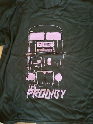 Prodigy tour t shirt black size xl no tourist tour uk