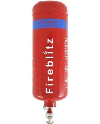 Fireblitz Automatic ABC Dry Powder Fire Suppression Unit - 2kg