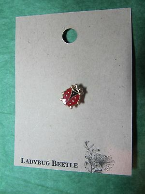Ladybug Beetle Lapel Hat Pin Travel Souvenir (9)