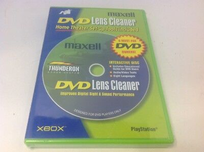 Maxell DVD-LC DVD Lens Cleaner DVD-LC New Sealed