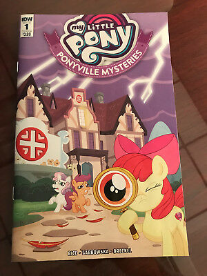My Little Pony Ponyville Mysteries Comic Book #1 First Issue Idw