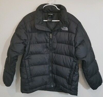 THE NORTH FACE 550 Boys Goose Down Winter Jacket Coat Size 7/8 Small