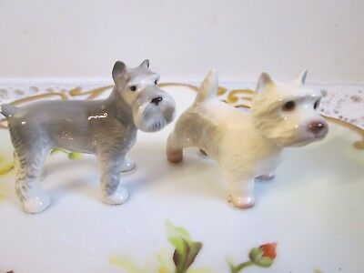 Hagen Renaker Dog Lot West Highland Terrier Westie & Schnauzer