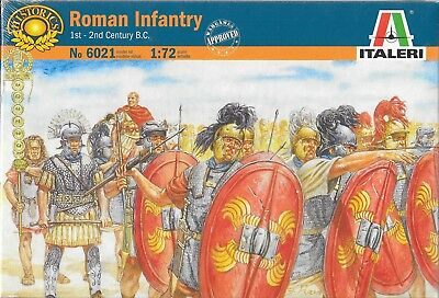 Italeri Roman Infantry 1st-2nd Century 1/72 Scale No. 6021