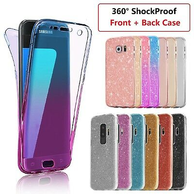 Samsung A6 Shockproof 360° Ultra Slim TPU Case Cover For Samsung Galaxy A6 2018